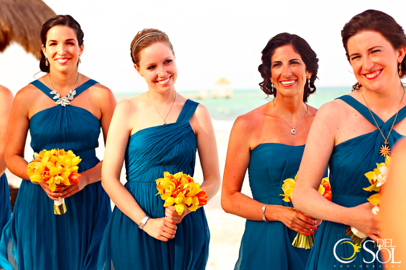 Caitlin Guariglia and Michael Burns wedding at Le Reve Resort and Spa in Playa del Carmen, Mexico.